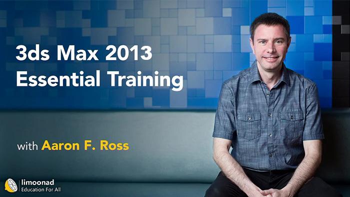 فیلم آموزش 3d max زیرنویس فارسی از لیندا - 3ds Max Essential Trainin
