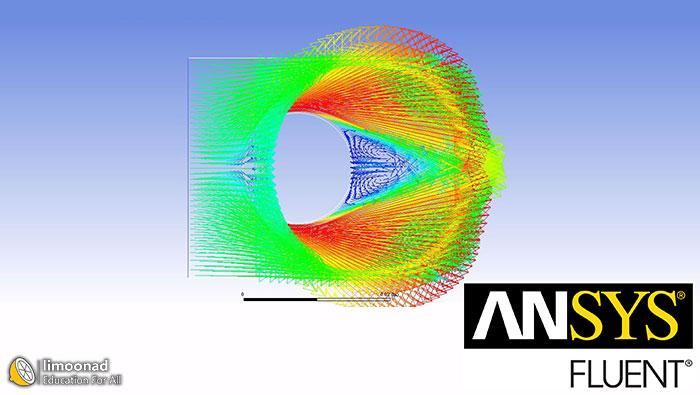 آموزش انسیس فلوئنت - بخش دوم - طراحی جریان خارجی سیال روی سیلندر د
