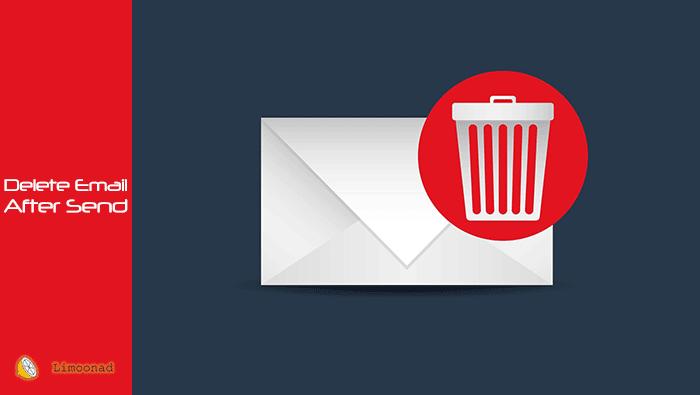 فیلم آموزش حذف ایمیل بعد از خوانده شدن
