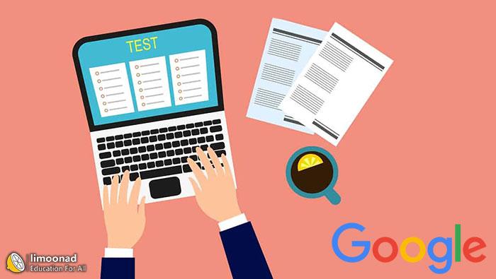 آموزش ساخت آزمون آنلاین در گوگل (تستی و تشریحی)