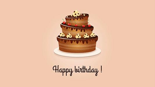 دستور پخت کیک تولد اسفنجی