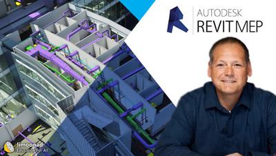 دوره آموزش رویت مپ 2019 برای طراحی تاسیسات ساختمان - Revit MEP