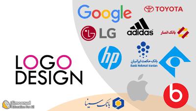 دانلود آموزش طراحی لوگو با فتوشاپ - با طراحی 14 لوگو
