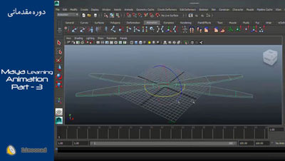 فیلم آموزش مایا - آموزش جامع مایا بخش سوم: متحرک سازی یا انیمیشن