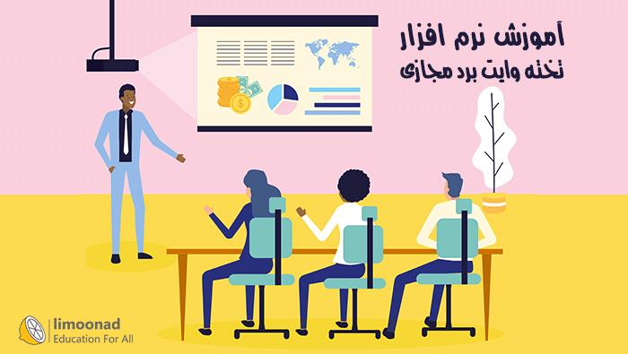 آموزش نرم افزار تخته وایت برد مجازی