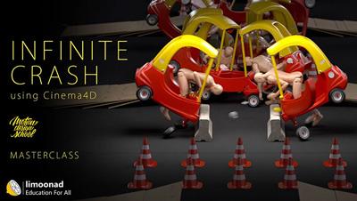 ساخت موشن گرافیک در سینمافوردی - انیمیشن تصادف بی پایان Infinite Crash