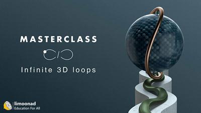 آموزش ساخت لوپ های انیمیشن بی نهایت در سینمافوردی - Infinite 3D Loop