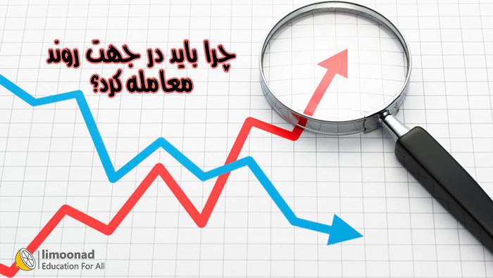 چرا باید در جهت روند بازار معامله کرد؟